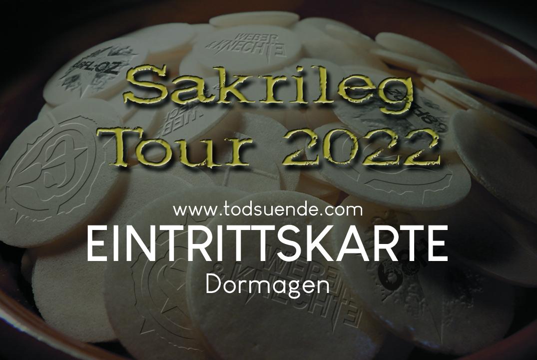 Ticket Dormagen 08.01.2022
