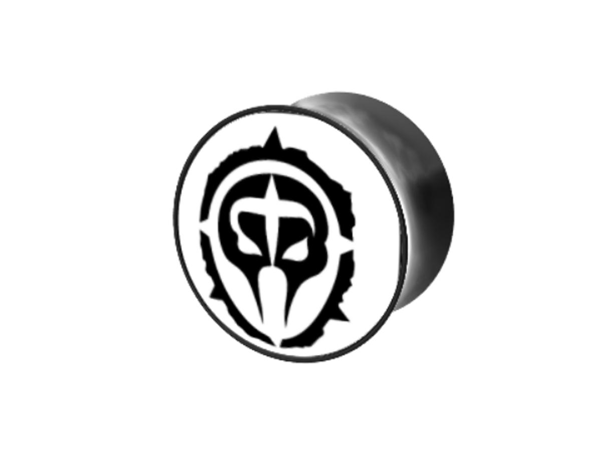 Plug - schwarz - Logo schwarz - weißer Hintergrund